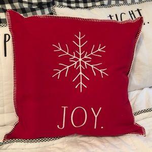 NWT Rae Dunn JOY Pillow
